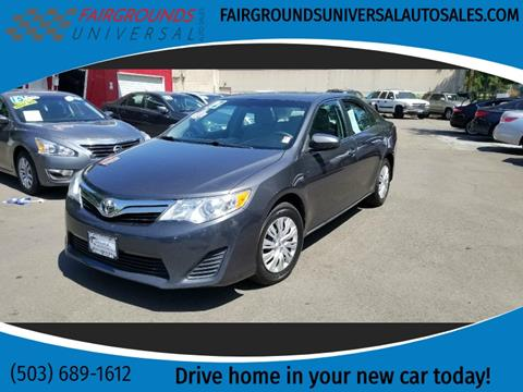 2012 Toyota Camry for sale at Universal Auto Sales in Salem OR