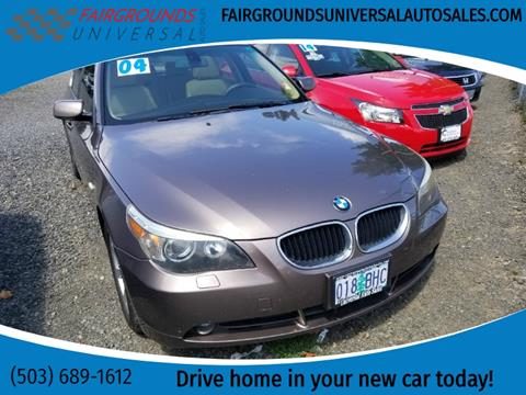 2004 BMW 5 Series for sale at Universal Auto Sales in Salem OR