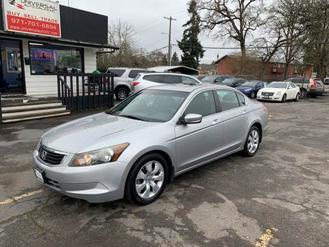 2009 Honda Accord for sale at Universal Auto Sales in Salem OR