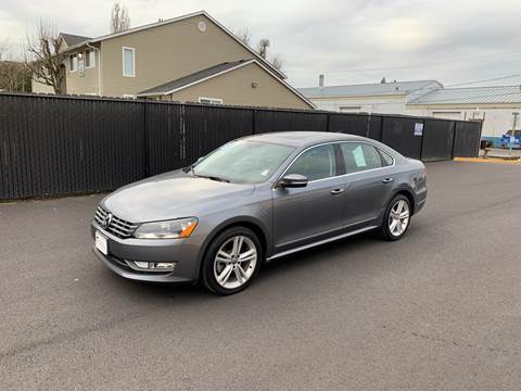 2013 Volkswagen Passat for sale at Universal Auto Sales in Salem OR