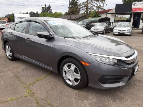 2016 Honda Civic for sale at Universal Auto Sales in Salem OR