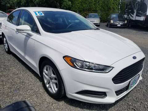 2015 Ford Fusion for sale at Universal Auto Sales in Salem OR