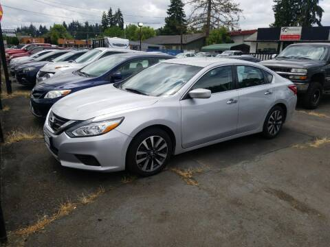 2017 Nissan Altima for sale at Universal Auto Sales in Salem OR