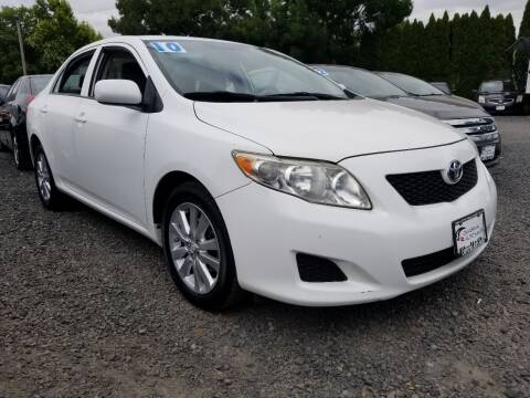 2010 Toyota Corolla for sale at Universal Auto Sales in Salem OR