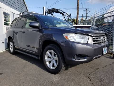 2008 Toyota Highlander for sale at Universal Auto Sales in Salem OR