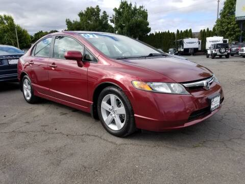 2007 Honda Civic for sale at Universal Auto Sales in Salem OR