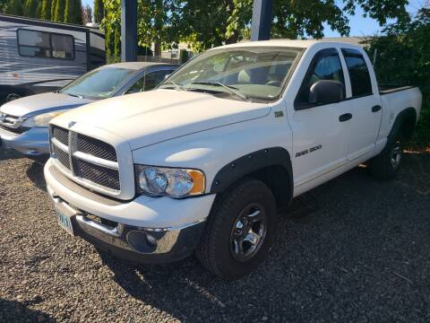 2003 Dodge Ram Pickup 1500 for sale at Universal Auto Sales in Salem OR