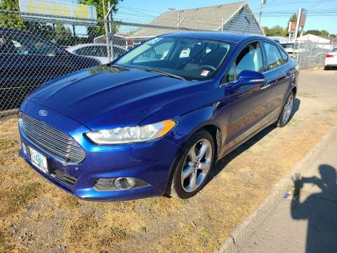 2013 Ford Fusion for sale at Universal Auto Sales in Salem OR