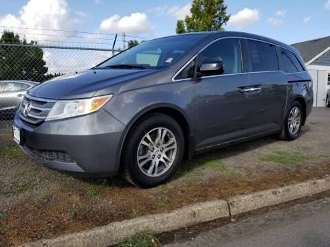 2013 Honda Odyssey for sale at Universal Auto Sales in Salem OR