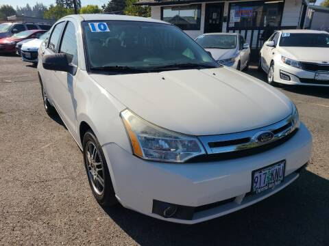 2010 Ford Focus for sale at Universal Auto Sales in Salem OR