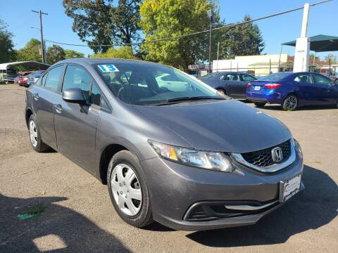 2013 Honda Civic for sale at Universal Auto Sales in Salem OR