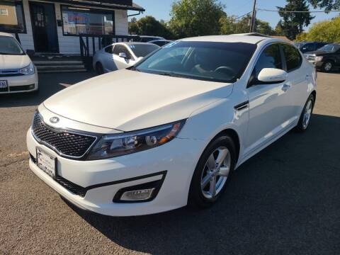 2015 Kia Optima for sale at Universal Auto Sales in Salem OR