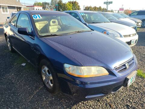 2001 Honda Accord for sale at Universal Auto Sales in Salem OR