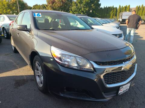 2016 Chevrolet Malibu Limited for sale at Universal Auto Sales in Salem OR