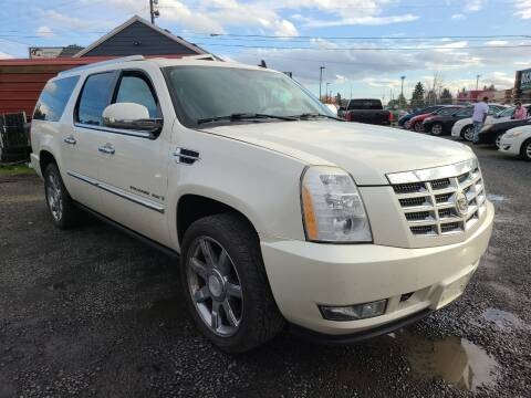 2008 Cadillac Escalade ESV for sale at Universal Auto Sales in Salem OR