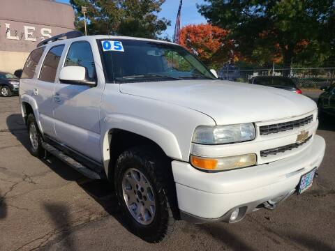 2005 Chevrolet Tahoe for sale at Universal Auto Sales in Salem OR