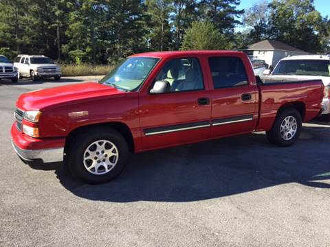 2006 Chevrolet Silverado 1500 for sale at Uptown Auto Sales in Rome GA