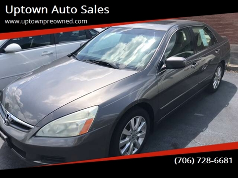 2007 Honda Accord for sale in Rome, GA