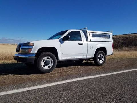 2009 GMC Canyon for sale at Electric City Auto Sales in Great Falls MT