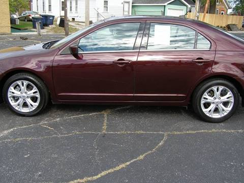 2012 Ford Fusion for sale in Michigan City, IN