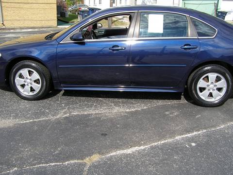 2010 Chevrolet Impala for sale in Michigan City, IN
