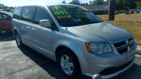 2012 Dodge Grand Caravan for sale at Deckers Auto Sales Inc in Fayetteville NC