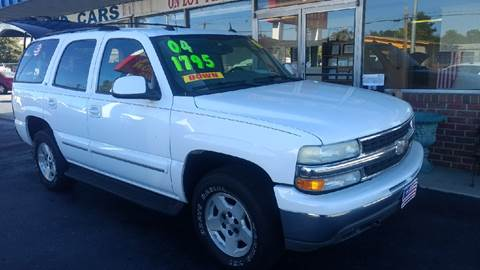 2004 Chevrolet Tahoe for sale at Deckers Auto Sales Inc in Fayetteville NC