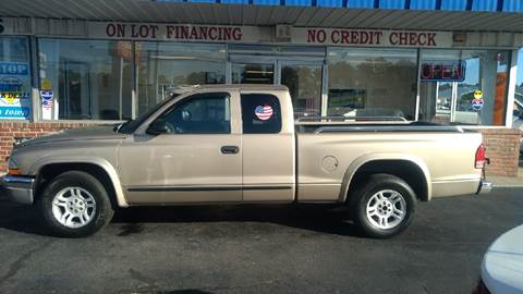 2003 Dodge Dakota for sale at Deckers Auto Sales Inc in Fayetteville NC