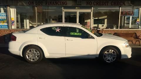 2013 Dodge Avenger for sale at Deckers Auto Sales Inc in Fayetteville NC