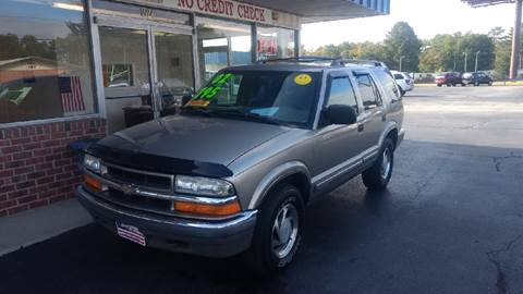 2000 Chevrolet Blazer for sale at Deckers Auto Sales Inc in Fayetteville NC
