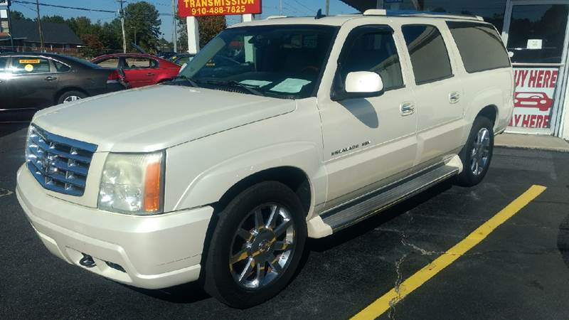 2006 Cadillac Escalade ESV for sale at Deckers Auto Sales Inc in Fayetteville NC