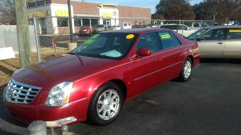 2008 Cadillac DTS for sale at Deckers Auto Sales Inc in Fayetteville NC