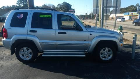 2002 Jeep Liberty for sale at Deckers Auto Sales Inc in Fayetteville NC