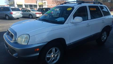 2004 Hyundai Santa Fe for sale at Deckers Auto Sales Inc in Fayetteville NC