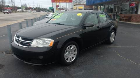 2012 Dodge Avenger for sale at Deckers Auto Sales Inc in Fayetteville NC