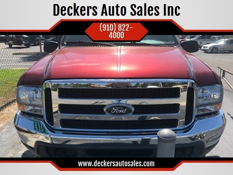 2001 Ford Excursion for sale at Deckers Auto Sales Inc in Fayetteville NC