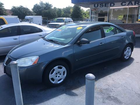 2006 Pontiac G6 for sale at Deckers Auto Sales Inc in Fayetteville NC