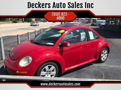 2007 Volkswagen New Beetle for sale at Deckers Auto Sales Inc in Fayetteville NC