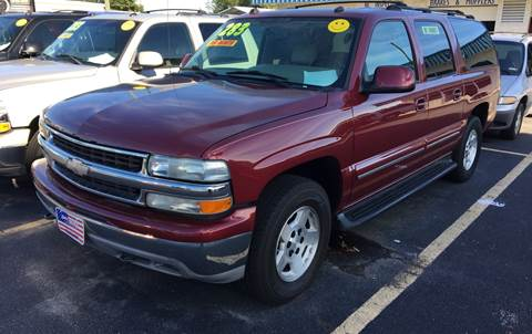 2004 Chevrolet Suburban for sale at Deckers Auto Sales Inc in Fayetteville NC