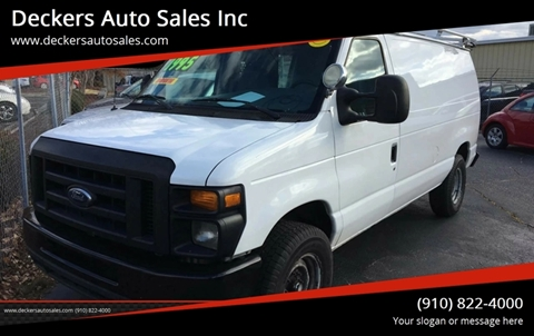 2008 Ford E-Series Cargo for sale at Deckers Auto Sales Inc in Fayetteville NC