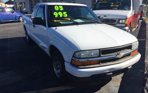 2003 Chevrolet S-10 for sale at Deckers Auto Sales Inc in Fayetteville NC