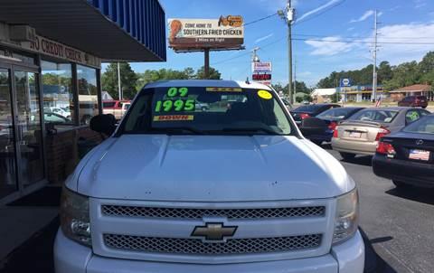2009 Chevrolet Silverado 1500 for sale at Deckers Auto Sales Inc in Fayetteville NC