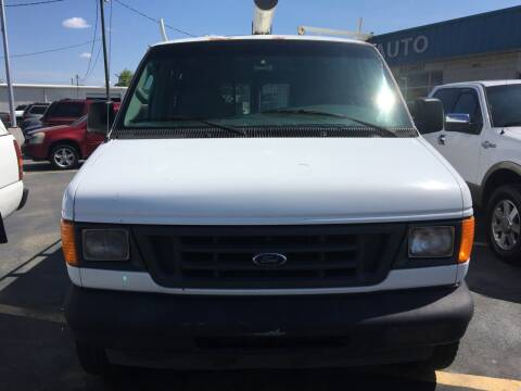 2004 Ford E-Series Cargo for sale at Deckers Auto Sales Inc in Fayetteville NC