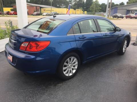 2010 Chrysler Sebring for sale at Deckers Auto Sales Inc in Fayetteville NC