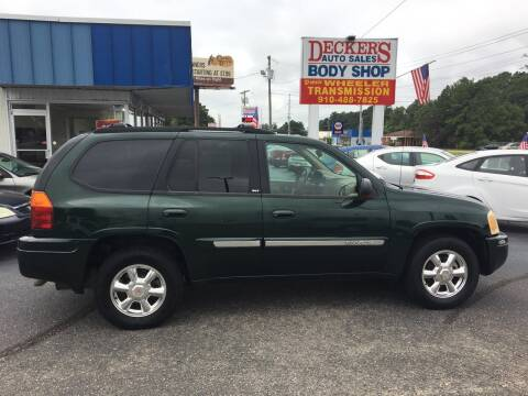 2003 GMC Envoy for sale at Deckers Auto Sales Inc in Fayetteville NC