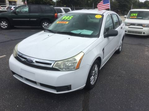 2008 Ford Focus for sale at Deckers Auto Sales Inc in Fayetteville NC