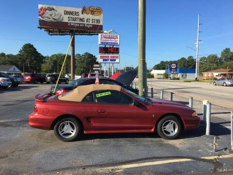 1998 Ford Mustang for sale at Deckers Auto Sales Inc in Fayetteville NC