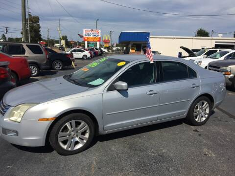 2006 Ford Fusion for sale at Deckers Auto Sales Inc in Fayetteville NC