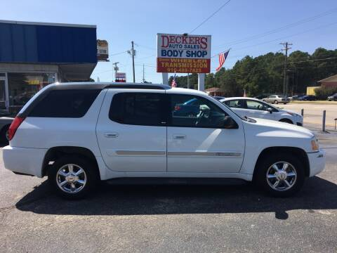 2004 GMC Envoy XUV for sale at Deckers Auto Sales Inc in Fayetteville NC