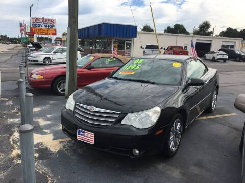 2008 Chrysler Sebring for sale at Deckers Auto Sales Inc in Fayetteville NC